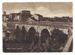 1206 - RIMINI PONTE TIBERIO 1953 - Rimini