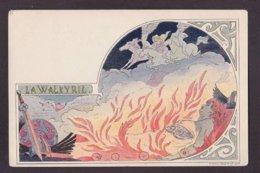 CPA Lessieux Louis Art Nouveau Non Circulé La Walkyrie - Lessieux