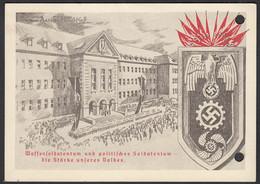 AK NS Militaria Propaganda Karte 3.Reich Waffensoldatentum SST KDF 1941 - Militares