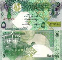 QATAR, 5 Riyals, 2017, P29b, UNC, New Signature - Qatar