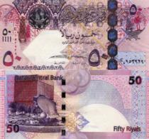 QATAR, 50 Riyals, 2017, P31b, UNC, New Signature - Qatar