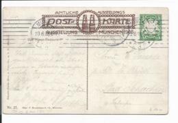 Bayern PP 15  C 144-27 - 5 Pf Wappen München, Ausstellung 1908 N. Bad Schachen Verwendet - Stamped Stationery