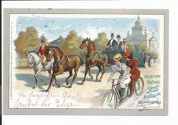 Bayern PP 15  C 12-01 - 5 Pf Wappen München, Allgem. Dt. Sport-Ausstellung 1899 Nach Altensteig Verwendet - Stamped Stationery