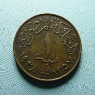 Egypt 1 Millieme 1938 - Egypt