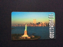 CARTE PRÉPAYÉE  NEW YORK CITY  *$ 10 - Unclassified