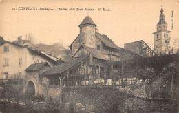 France Conflans (Savoie) L'Entree Et La Tour Ramus - Francia