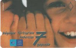 TURKEY - 7th Anniversary Of Turk Telecom(30 Units), 04/02, Used - Turquie