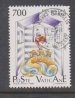 Vatican City S 839 1987 Transfer Of St Nicholas Relics. 700 Lire Used - Vatican