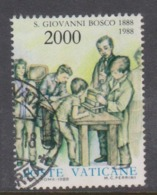 Vatican City S 841-43 1988 St John Bosco. 2000 Lire Used - Vatikan
