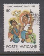 Vatican City S 844 1988 Marian Year. 50 Lire Used - Vatikan