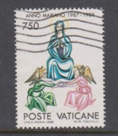 Vatican City S 847 1988 Marian Year. 7750 Lire Used - Vatikan