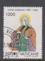 Vatican City S 848 1988 Marian Year. 1000 Lire Used - Vatikan