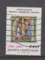 Vatican City S 865 1989  Feast Of The Visitation 600th Anniversary. 550 Lire Used - Vatikan