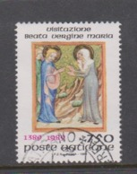 Vatican City S 866 1989  Feast Of The Visitation 600th Anniversary. 750 Lire Used - Vatikan