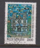 Vatican City S 901 1990 3rd Centenary Of Peking Diocesis, 2000 Lire,used - Vatikan