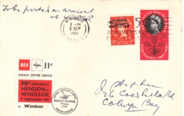 G.B. / B.E.A. Airmail Letter Stamps - Unclassified