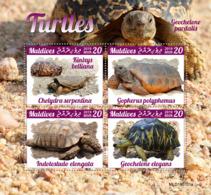 Maldives 2019  Fauna Turtles  S201910 - Maldives (1965-...)