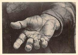 Die Meister Michelangelo Hand Des Propheten Ezechiel Rom - Postcards