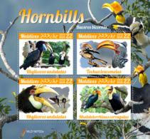 Maldives 2019  Fauna  Hornbills S201910 - Maldives (1965-...)