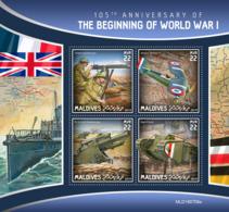 Maldives 2019   World War I  S201910 - Maldives (1965-...)
