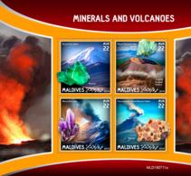Maldives 2019   Minerals And Volcanoes S201910 - Maldives (1965-...)