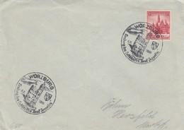 Blanko Sonderstempelbeleg 1939: Würzburg: Landung Des Luftschiffes Graf Zeppelin - Deutschland