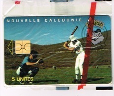 Nouvelle Caledonie Telecarte Phonecard Prive Rhino Base Ball Cote 80 Euro NC31A Sport  TB - Neukaledonien