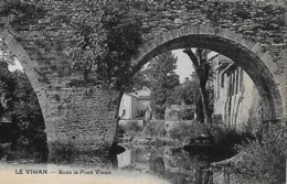 30)  LE VIGAN  -  Sous Le Pont Vieux - Le Vigan