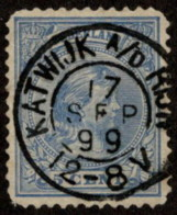 "NTH SC #41 U 1894 Princess Wilhelmina W/SON ""KATWIJK A/D RIJK/17SEP 99/12-8V"" W/flts CV $0.25 - Periodo 1891 – 1948 (Wilhelmina)"