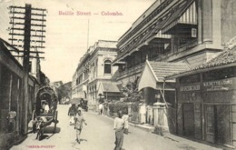 Bailly Strrt Colombo  RV Beau Timbre 6 Cents Ceylon Postage - Sri Lanka (Ceylon)