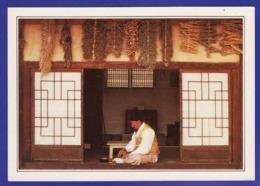 Seoul Herboriste Coreen Carte Fiche Années 80 ( Très Très Bon ETAT) é840 - Korea (Zuid)