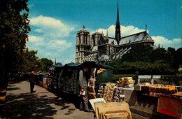 75-PARIS...NOTRE DAME DE PARIS...CPSM GRAND FORMAT ANIMEE - Notre Dame De Paris