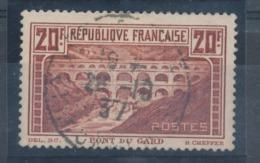 N° 262 PONT DU GARD BON CENTRAGE. - France