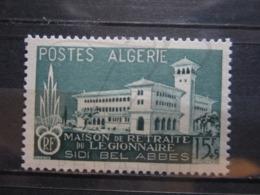 VEND BEAU TIMBRE D ' ALGERIE N° 334 , XX !!! - Unused Stamps