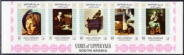 Aden: Upper Yafa, Michel No. 33B-42B, Issued 1967, MNH, Cat. 8.00 € - Jemen
