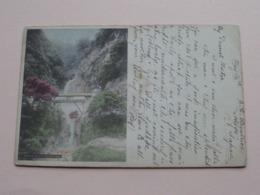 NUNOBIKI Water Falls At KOBE ( A 7 ) Anno 1905 ( Zie/voir Photo Voor Details ) ! - Kobe