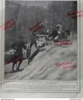 1910 CAUTERETS - LUGES - BOBSLEIGH - LE CLUB ALPIN FRANÇAIS - Kranten