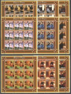 F833 2001 MOZAMBIQUE ART PAINTINGS EDGARD DEGAS 9SET MNH - Art