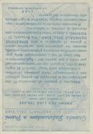 """9600-CARTOLINA """"GRANDE REFERENDUM A PREMI-EIAR""""-1940-FG - Biglietti Della Lotteria"""