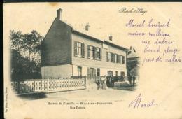 FG719 BERCK PLAGE - MAISON DE LA FAMILLE  WILLIAME DUSAUTIEZ , RUE DUBOIS ( UNDIVIDED BACK 1902 ) - Berck