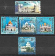 INDIA- 2019 GURU NANAK DEV JI- 55th Prakash Guru Purab- Complete Set Of MNH Stamps - Unused Stamps
