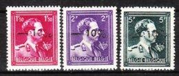 724N/P**  Leopold III Col Ouvert Surchargé -10% - LILLOIS - Série Complète - MNH** - LOOK!!!! - 1946 -10%