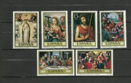 España 1979 ** Mnh Edi 2537/42 **  Juan De Juanes - Arte