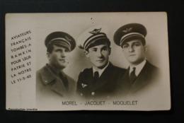 Aviateurs Francais Tombés à RAMKIN Pour Leur Patrie Le 15-5-40 (description) - Aviateurs