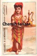 Chromo Chicorée A LA MÉNAGÈRE DUROYON & RAMETTE - Égyptienne - Scans Recto-verso - Tea & Coffee Manufacturers