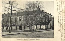BRASSAC ( Tarn ) Place De La Mairie RV - Brassac