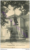 30. POMPIGNAN . Statue Du Colonel Bourras .  GARD . - France