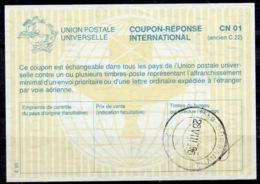 SOUTH AFRICA / AFRIQUE DU SUD La29 InternationalReply Coupon Reponse IRC IAS Antwortschein O DURBANVILLE 28.8.96 - Briefe U. Dokumente
