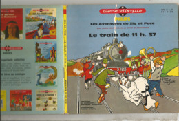 JC , 45 T ,vinyl , LIVRE DISQUE , Philips , Les Aventures De ZIG Et PUCE ,le Train De ... , 6 Scans,  Frais Fr 5.50 E - Bambini