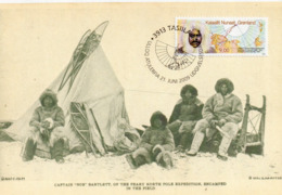CPM - A - CARTE MAXIMUM - REPRO CARTE ANCIENNE THE PEARY NORTH POLE EXPEDITION - CACHET GROENLAND 2009 - Groenland